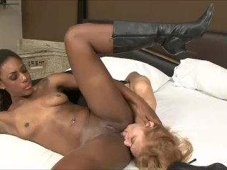 Black Lesbians Dominating White Girls – Interracial Music Compilation – PMV